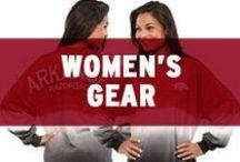 Women's Razorback Gear