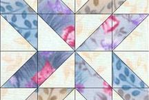 Quilt Blocks / An assortment of quilt blocks to use for quilt ideas and patterns.