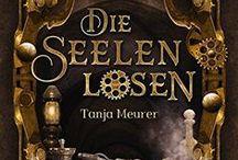Meine Bücher / Cover meiner Romane
