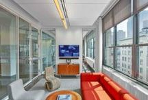 Havas / TPG's design seamlessly integrated Havas' creative and media staff within a progressive workplace, reflecting the firm's forward thinking philosophy. The new space features in-house, world-class production facilities, an innovation laboratory, theater and cafe.