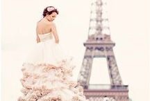 Mariage Parisien / Oh la la ! I love Paris ! Un thème chic et sophistiqué. Des décorations originales sur le thème de Paris : La Tour Eiffel, les macarons, le parfum, le luxe