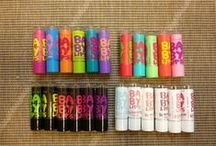 Baby lips / Something for your lips.