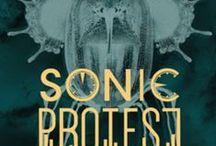 Direction Artistique Multimédia - Festival Sonic Protest 2015 / Les étudiants en 1ère année Directeur Artistique Multimédia réalisent les affiches de la 11ème édition du Festival Sonic Protest