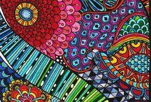 Diseños / Diseños,doodles, mándalas, sharpie