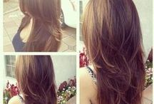 Corte de pelo largo - Long hair Cuts
