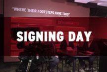 Razorback 2015 Signing Day