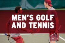 Men's Golf and Tennis