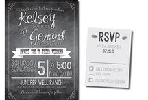 Modern Touch / Modern Wedding Invitations