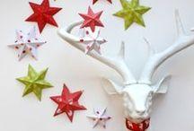 Ozdoby świąteczne z papieru i filcu