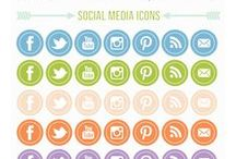 Icoons / Social media icons