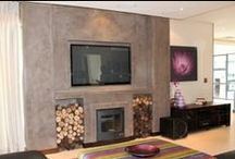 Fireplaces / Perhaps not considered an essential in South Africa, but definitely a sought after luxury, the best add on to your living space.
