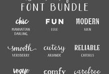 It's all about the Type | Fonts / Bold & Pop is a branding and website design collective. This is a collection of different fonts for inspiration for future design projects.  Design, graphic design, fonts, font, free fonts, type, typefaces, branding, website design