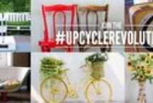 National Upcycling Day / Upcycling inspiration, hate items going to landfill? Transform them.