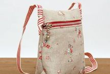 Free bag patterns to sew / DIY Easy Bags - free bag patterns to sew, totes, cross body, zip pouches, clutch.