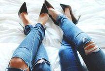 NOISY | JEANS 'N' HEELS / We love jeans! We love heels!