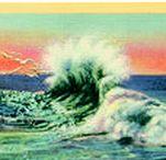 postcards / postcards, Postcrossing, vintage, vintage postcards, snail mail, mail