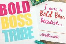 #BoldBossTribe | Women Entrepreneurs / The Bold Boss Tribe is a community started by Bold & Pop that features the stories of entrepreneurs, business owners, side hustlers, bloggers and artists.   small business, entrepreneur, business owner, women entrepreneurs, woman entrepreneur, women in business, girl boss, lady boss
