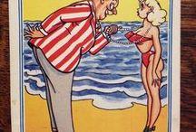 Saucy Vintage Postcards
