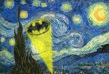 Thou Art Funny / Funnies and comics, humorous quotes or sayings related to the visual arts