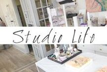 My Art Studio Life / Visual tales from the art studio of contemporary paper artist Col Mitchell