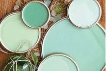 Mint & celadon