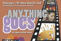 Anything Goes 2014 / First open juried show of 2014.