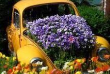 brico jardin  / décorer le jardin  / by angeline laulan