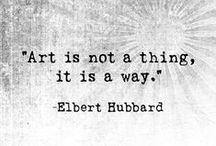 Art Quotes / #artquote #artquotes #art #quote