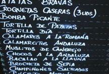 Tapas de España / by maria rivera