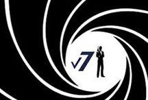 Hombre V7 black & White / Siluetas de diferentes perfiles de hombres. Romántico, businesmann, deportista, elitista...