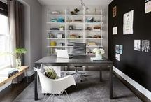Home Office - MYOB / Everything about working at home from furniture to organizing your office space.