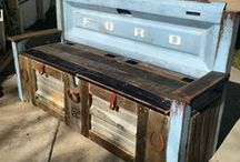 UpCycle // Re-purposed DIY decor ideas / Repurposed and recycled decor ideas
