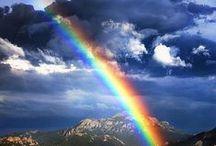 Somewhere over the rainbow / Regenboog - Rainbows
