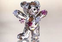 The art of Swarovski / Swarovski crystal figurines / by Jolanda's Boekenland