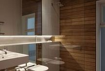 Cleaning Up..... / Combinations of good design and great uses of material for the bathroom.
