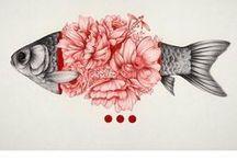 Crush: Fish Art / Fish inspired art and craft