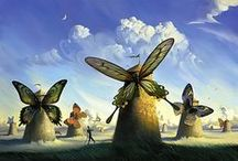 """Vladimir Kush / Vladimir Kush (born 1965) is a Russian born surrealist painter and sculptor. He is also called """"The Russian Dali"""". I think his work is fenomenal!"""