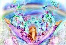 Ƹ̵̡Ӝ̵̨̄Ʒ  Flight of the Butterflies  Ƹ̵̡Ӝ̵̨̄Ʒ / Butterflies in (digital) art.  A special thanks to all those wonderful talented Deviantartists!