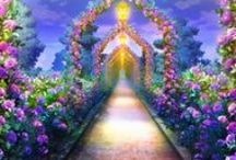 My dream garden /  ✽ Your mind is a garden. Your thoughts are the seeds. You can grow flowers or you can grow weeds. ✽