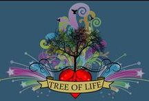 ƬӇЄ ƬƦЄЄ ƠƑ ԼƖƑЄ / Worldwide artistic expressions of the Tree of Life   / by Jolanda's Boekenland