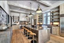Industrial Home Décor / Anything about Industrial style in Home Decor