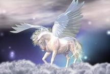 ☁ ★ Pegasus ★ ☁ / The beautiful winged divine stallion.