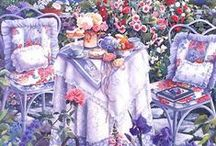 SUSAN RIOS / Be personally invited  into her private places, allow yourself to linger there, partaking of the scene.