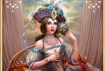 ƔЄƝЄƬƖƛƝ ƇƛƦƝiƔƛԼ / Beautiful Venetian Masks in art