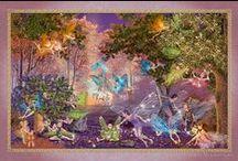Cᴀʀᴏʟ Mᴄʟᴇᴀɴ ﹣ Cᴀʀʀ / Carol McLean-Carr's intricately detailed illustrations create a glowing, jeweled fairyland that is both familiar and fantastic!