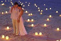 Casamento na Praia / Inspirações para quem sonha em realizar o grande dia na praia.