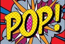 """P O P • A R T / """"I don't have big anxieties. I wish I did. I'd be much more interesting."""" -Roy Lichtenstein / by Bowtie Affaire"""