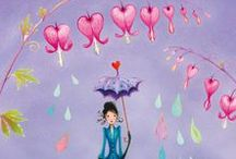 Under my Umbrella / ☂☂☂Happiness is having an umbrella when it rains. ☂☂☂