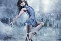 """Dancing on Ice / """"Hearts dance once again… when canvas of ice is painted with the brush of skates.""""  ― Shah Asad Rizvi"""