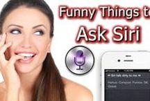 Funny Things to ask Siri / Funny Siri commands, how to use Siri, Siri questions, and Siri jokes.